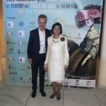 Carlos Hipólito y Mercedes Reyes, homenajeados en Ciclo Académico