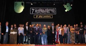 Foto de familia del Almería Western Film Festival.
