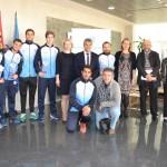 El rector felicita a los representantes de la UAL en el previo del Mundial de Rusia
