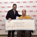 El almeriense Juan José Camacho recibe un premio GAES para competir en Handbike H1