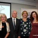 Mar Abad recibió el Premio Colombine de la Asociación de Periodistas de Almería